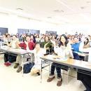 女性の大切なところのケア講座専門の講座の風景