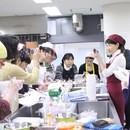 JSIA 飾り巻き寿司の開催する講座の風景