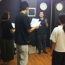 声優俳優など演じる事に興味がある方へ超入門WS  の講座の風景