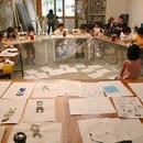 time spotアート&デザイン教室の講座の風景