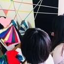 パーソナルカラーについて学ぶ教室の講座の風景