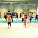 スカイリミットスポーツ「キックボクシングスクール」の講座の風景