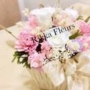花も香りも楽しむワークショップの講座の風景