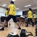 和太鼓教室の講座の風景