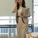 英語コーチ 富山容子の講座の風景