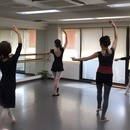 土井バレエの講座の風景