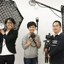 本物の写真スタジオで覚える!売上に直結する写真!の講座の風景