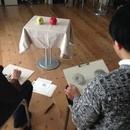 造形+自然の教室 にじいろたまごの講座の風景