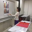 色で輝く!パーソナルカラー講座&診断の講座の風景
