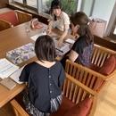 パーソナルカラー診断で魅せ☆テクupの講座の風景