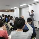 越野博文 ハイクォリティ睡眠講座の講座の風景