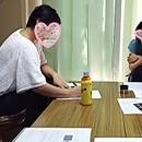 アドラー + 図形を用いた解決法☆後悔しない☆育児の講座の風景