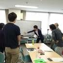 実践型の少人数ワークショップの講座の風景