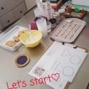 手作りパン&アイシングクッキー教室「Drop」の講座の風景