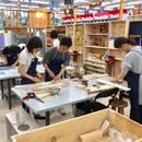 DIYスタジアム(ホームセンターユニディ狛江店)の開催する講座の風景