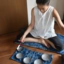 香りの中の音瞑想と自然施術@市川市 妙典の講座の風景