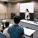 アナウンサーが教える「話し方・印象UPレッスン」の講座の風景