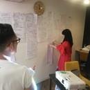 アート×デザイン思考入門と実践の講座の風景