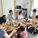 子連れOK! マクロビ料理教室 蓮の実キッチンの講座の風景