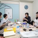 スモールビジネスの教室の講座の風景