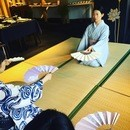 花柳毱紫月(はなやぎまりしづき)日本舞踊の講座の風景