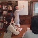 通じる日本人英語の講座の風景