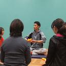 痛み・姿勢改善専門パーソナルトレーニングの講座の風景