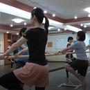 ひまわりバレエの講座の風景