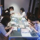 chiconomiの手芸教室の講座の風景