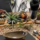 季節のテーブルコーディネートの講座の風景