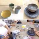 K2工房陶芸教室の講座の風景