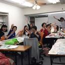 最強コミュニケーションツール・心書筆文字教室の講座の風景