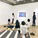 「アートを通じて豊かな時間を!」の講座の風景