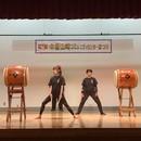 町田八丈太鼓教室の講座の風景