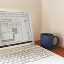 インテリアコーディネートと建築系ソフトのレッスンの講座の風景