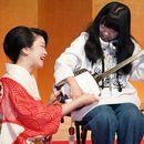 東京・日本橋人形町の常磐津・端唄三味線教室の講座の風景