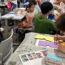 好きを見つけて描く絵の教室 (蜜蝋画教室)の講座の風景