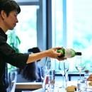 ワインと料理のペアリングの講座の風景