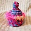 編み物初心者でも可愛く楽しく作れるモロッコカゴの講座の風景