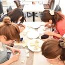 アイシングクッキー&カップケーキ エレールの講座の風景