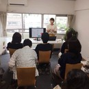 元営業&色のプロが教える資料・チラシデザインのコツの講座の風景