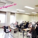 Aroma fragrance Airの講座の風景