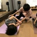 疲労回復リラックス♪筋膜リリースセルフケア@大阪の講座の風景