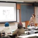 京本薫の「個人起業主の強い味方!」の講座の風景