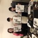 日本文化墨画を初めてみましょうの講座の風景