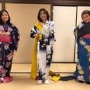 藤間勘洋雪日本舞踊教室の講座の風景