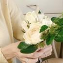 お花のハンドメイドで癒されましょう♪の講座の風景