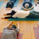 やさしいハタヨガと瞑想の講座の風景