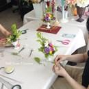 うぁ~キレイ!楽しい!を感じる花体験の講座の風景