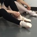 進藤眞代バレエスタジオの講座の風景